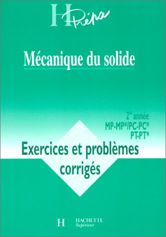 Mécanique du solide : exercices deuxième année, MP, PC, numéro 15