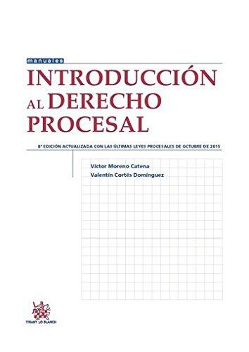 Introducción al Derecho Procesal 8ª Edición 2015 (Manuales de Derecho Procesal)