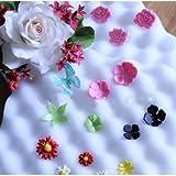 2Pcs Fondant Cake Tools Fondant Flower S...