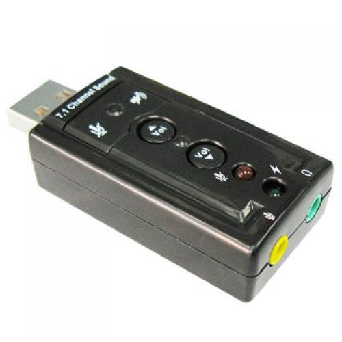 USB 2.0 External Sound Card 3D 7...