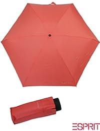 Damen-accessoires verschiedene Farbe Regenschirm Taschenschirm Schwarz Mit Streifen In Neonfarben
