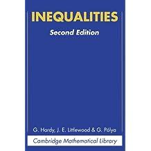 Inequalities (Cambridge Mathematical Library)