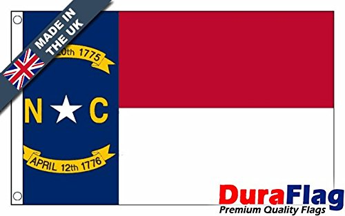 Duraflag® North Carolina Premium Quality bandiera-0,9x 0,6m