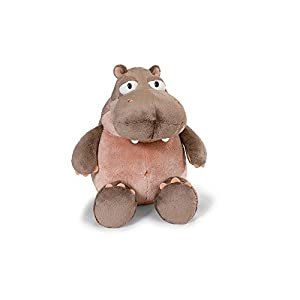 NICI - Peluche Hipopótamo Balduin 25 cm, Color Light Brown/Light Pink (38620)
