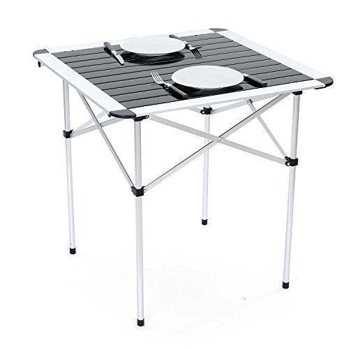 Trail Aluminium Folding Camping Table Grey Buy Online In Oman