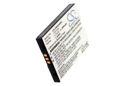 CS-SWA850RC Akku 380mAh Kompatibel mit [Sierra Wireless] AirCard 595U, AirCard 875U, AirCard 880U, AirCard 881, AirCard 881U, USBConnect 881 Ersetzt 1201324 Sierra Wireless Aircard