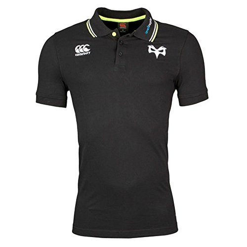 2017-2018 Ospreys Rugby Cotton Pique Polo Shirt (Tap Shoe) (Pique Short Sleeve Rugby)