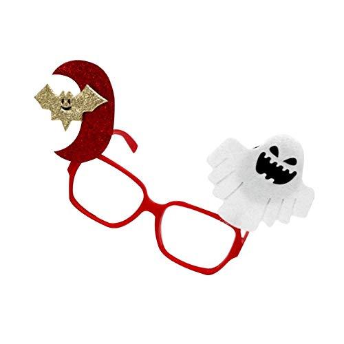 Party DIY Decorations - Halloween Decoration Bats Eyewear Pumpkin Skulls Ghosts Tricky Dress Up Party Glasses Kids Gift - Boys Kids Pajamas Party Decorations Skull Robe Artificial Rainbow W