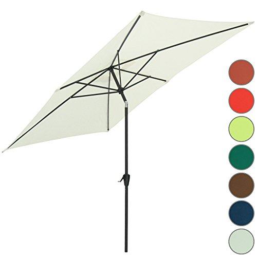 miadomodo parasol de jardin rectangulaire 3 x 2 x 2 4 m. Black Bedroom Furniture Sets. Home Design Ideas