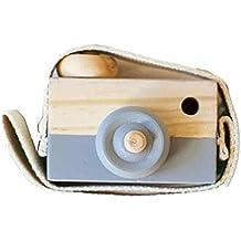Covermason Kinder Baby Holz Kamera Spielzeug (Weiß