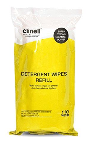 Clinell–Salviette detergenti cdt110r, vasca di 110Refill