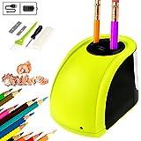 Best Electric Pencil Sharpeners - Bearbro Electric Pencil Sharpener, Dual Holes Automatic Pencil Review