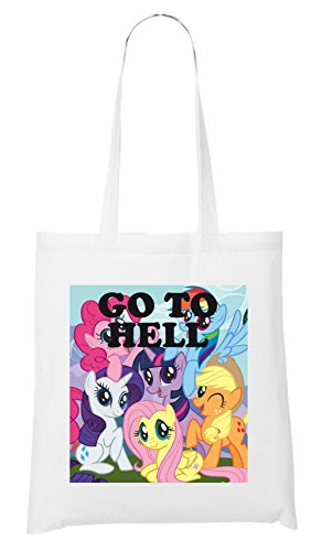Go To Hell Pony Sac Blanc
