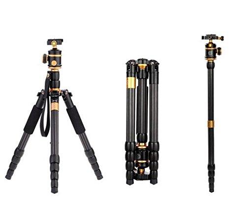 Gowe Tragbare Reise 8kg Bär Pro Carbon Faser Kamera Stativ Einbeinstativ Ständer Video DSLR Kugelkopf Fotografie Professionelle -