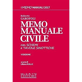 Memo Manuale Con Schemi E Tavole Sinottiche Di Civile. Con Contenuto Digitale Per Download E Accesso On Line