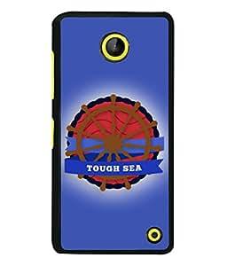 Microsoft Lumia 630 Back Cover Tough Sea Design From FUSON