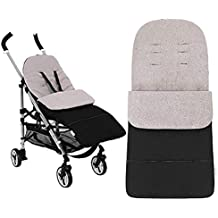 Anntry Footmuff, bolsa de dormir para bebé, universal, para niños pequeños con cochecito