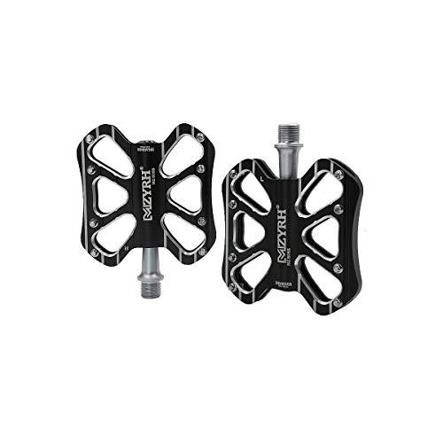 CHENTAOCS Pedale della Bicicletta, Pedali del Pedale della Bici di Montagna Chiodi Pedali della Lega di Alluminio Pedali della Bicicletta della Bicicletta Palin Pedal Universale Alta qualità