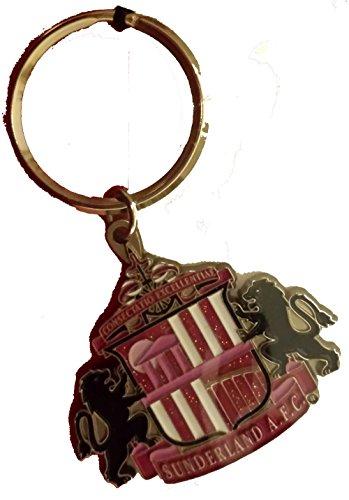 Sunderland Pink Crest Schlüsselanhänger (T-shirt Womens Crest Pink)