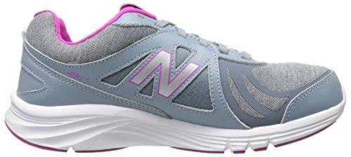 New Balance Women's 496v3 Walking Shoe, Grey/Pink, 10 2A US Grey/Pink
