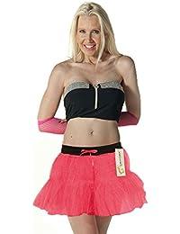 Crazy Chick Adult Women's 2 Layer Tutu Skirts Ballet Dance Hen Night Party Fancy Dress