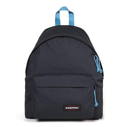 Eastpak Padded Pak'R Sac à dos, 40 cm, 24 L, Bleu (Navy-Aqua)