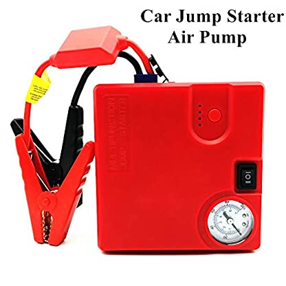 Del salto del coche arranque Banco de alimentación de alta potencia de compresor de aire 16800mAh dispositivo elevador para el automóvil A partir del arrancador para el coche de batería Buster