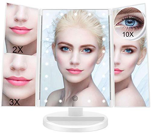 FASCINATE Espejo Maquillaje con Luz