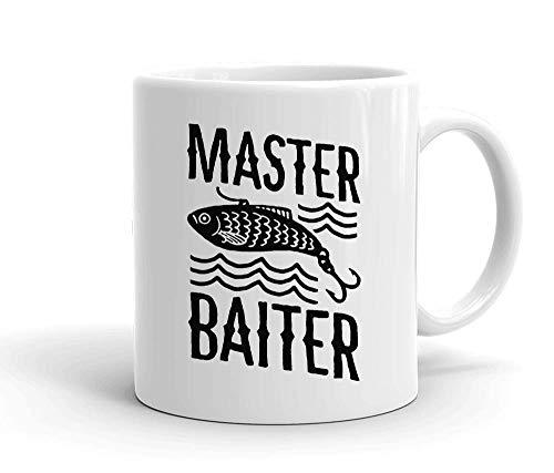 IDcommerce Master Baiter Tasse en Céramique Blanche pour Le Thé Et Le Café