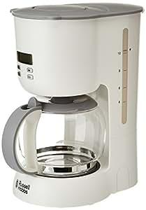 Russell Hobbs Precision Control 21170-56 Glas-Kaffeemaschine mit LCD-Anzeige weiß