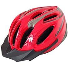 Limar Dc325 325 Mtb Unisize 54-61Cm - Casco de ciclismo BMX integral, color rojo