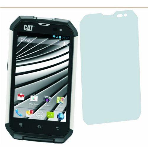4ProTec 4 x Entspiegelnde Displayschutzfolie Bildschirmschutzfolie Cat Phone B15 - Nahezu blendfreie Antireflexfolie