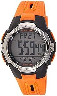 Timex Marathon Men's Digital Pocket Watch with LCD Dial Digital Display - TW5M0