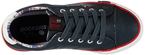 Dockers by Gerli 40ti601-610660, Sneakers Basses Mixte Enfant Bleu (Navy 660)