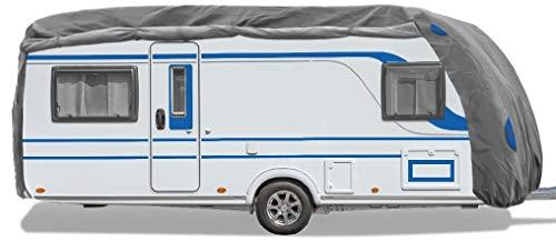 Bestcount Schutzhülle für Wohnwagen, Caravan Abdeckung in der Größe XL (Länge x Breite x Höhe) 670x250x220cm