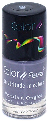 Color Fever Absolute Matt Nail Lacquer, Matt Purple Ash, 8.5g