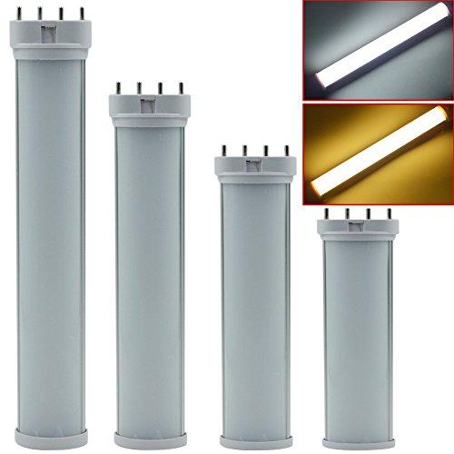 XJLED® 2G11 4Pin 9W Led Light Bulbs Ersatz für traditionelle 18W CFL / Leuchtstoffröhre Industrie Qualität,AC85-265V,Led Tube Light (9W Warm weiß)