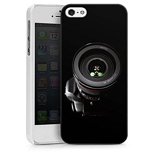Apple iPhone X Silikon Hülle Case Schutzhülle Spiegelreflex Objektiv Fotografie Hard Case weiß