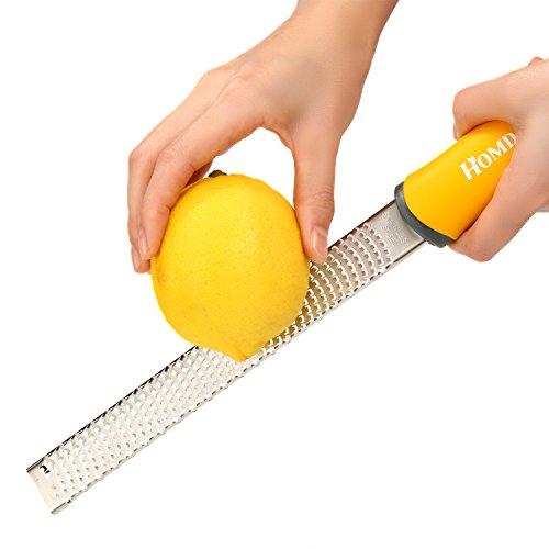 homdox-acciaio-inossidabile-grattugia-per-limone-formaggio-zenzero-aglio-agrume-spezie-ecc-rosso