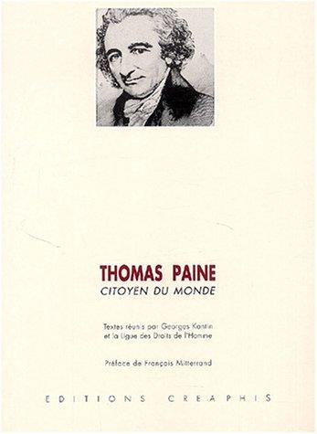 Thomas Paine, citoyen du monde