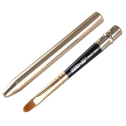 Ouneed® Eyeliner outil Pinceau/Maquillage Hot outil teint poudre fard à paupières Eyeliner Pinceau à lèvres (argent)