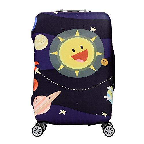EgBert Cartoon Cute Animal Elastic Gepäck-Cover Trolley Case Cover Durable Suitcase Protector Für 18-32 Inch Case Warm Travel Accessoires - 8 - XL
