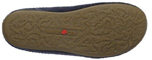 Haflinger  Classic, Chaussons mixte adulte Bleu - Blau (kapitän 79)