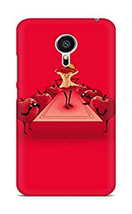Amez designer printed 3d premium high quality back case cover for Meizu MX5 (Fun Apple Show Stage)
