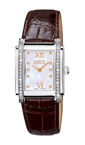Dugena Ladies Watch Analogue Quartz 7500259 Leather