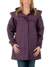 Womens 3/4 Length Ladies Waterproof Riding Cape Jacket Raincoat - B31