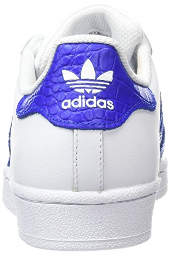 online store 6b831 3324b ... adidas Superstar J - Scarpe Sportive Unisex Bianco (Ftwbla   Azufue    Azufue) ...