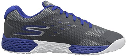 Skechers Performance Herren Go Train-Endurance Outdoor Fitnessschuhe Grau (Charcoal/Blue)