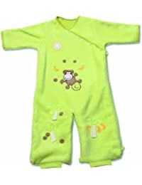Baby Boum Youpi Fleece Sleeping Bag 1.7 Tog for 0-9 months Lime Green