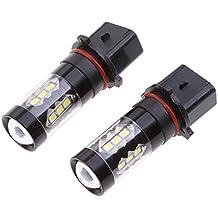 Gazechimp 2 piezas P13W PSX26W Luces de Niebla Diurna de Funcionamiento de Alta Potencia Accesorio para Vehículo